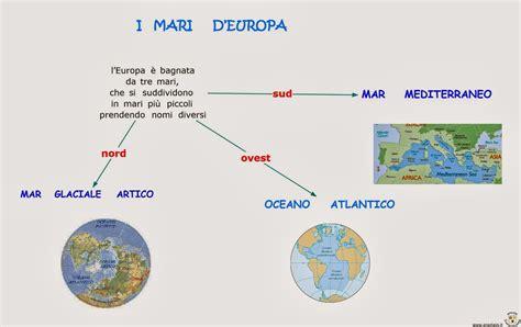 I Mari Bagnano L Europa I Mari Bagnano L Europa Ancora Sui Fiumi Bacino