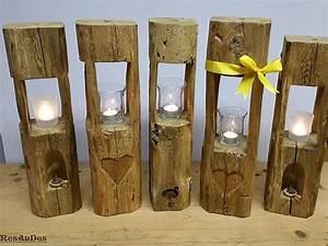 Deckenlampe Selber Machen : exklusives aus holz windlichter altholztische resandes historische baustoffe ~ Markanthonyermac.com Haus und Dekorationen