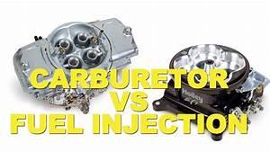 Carburetor vs Fuel Injection - YouTube