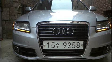 Audi A6 Modification by 2010 Audi A6 C6 Headlights Diy Modification