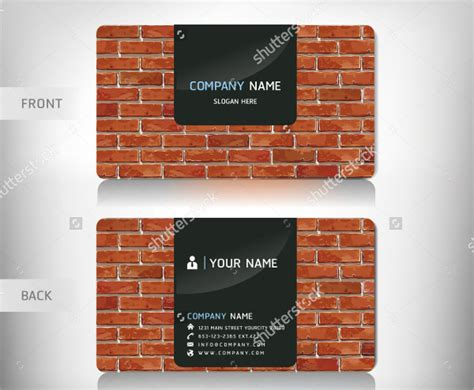 25+ Construction Business Card Templates Visiting Cards Design Maker App Scan Business To Excel Application Free Walmart Canada Sustainable Australia How Print Avery 8371 Fast Getting Printed At Staples
