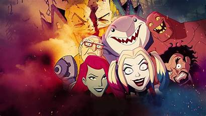 Quinn Harley Animated Series Tv Wallpapers Background