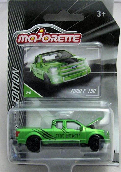 majorette modelcar diecast 1 72 ford f150 green limited
