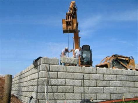 redi rock retaining wall systems archives  precast