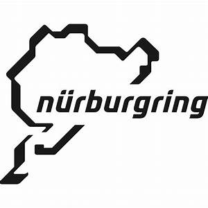 """""""Nurburgring - logo"""" by dawa-bu Redbubble"""