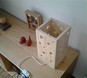 Lampe En Palette : lampe en bois de palette pinterest ~ Voncanada.com Idées de Décoration