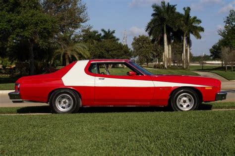 Seller of Classic Cars   1974 Ford Torino (Red/Black)
