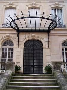 Marquise De Porte Ancienne : conception et cr ation de marquises l ancienne en fer ~ Dailycaller-alerts.com Idées de Décoration