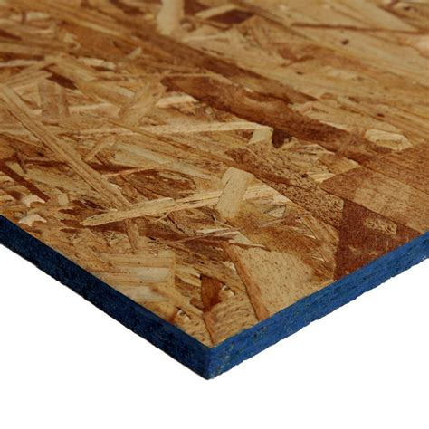 716 X 4ft X 8ft Osb Sheathing  Lowe's Canada