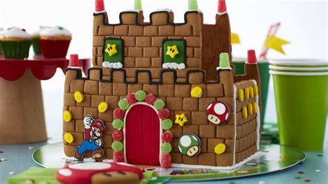 Wilton's Nintendo Super Mario Bros. Gingerbread Castle Kit ...
