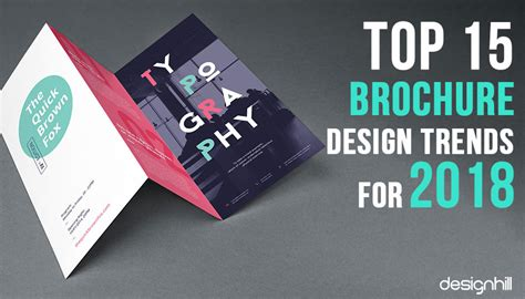 Top 15 Brochure Design Trends For 2018 Business Card Phone Number With Extension Visiting For Website Picture Poses Best Cards Mockup Contest Get Free Word Cloud Download