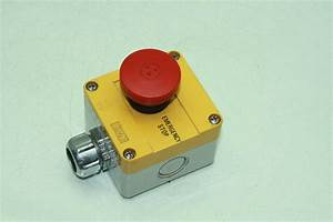 Sti    Omron Emergency Stop Switch Button W   Baco Enclosure
