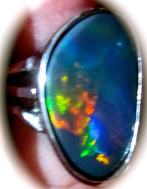 natural opal ring from official government heritage opal
