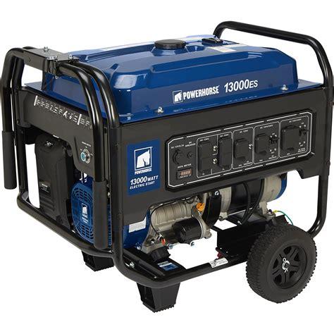 Generator Tool by Powerhorse Portable Generator 13 000 Surge Watts 10 000
