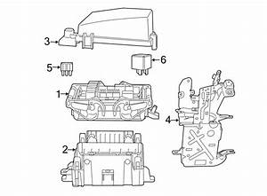 2015 Chevrolet Ss Fuse And Relay Center  Compartment  Engine
