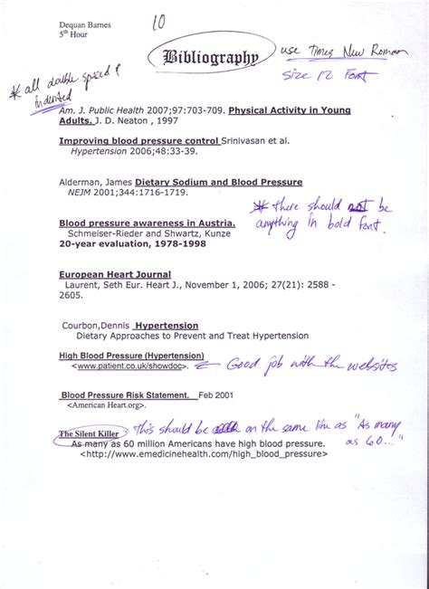 bibliography template bibliography template madinbelgrade