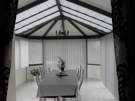 store toiture veranda interieur store de toiture v 233 randa pente storemania