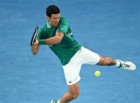 Djokovic was out of sorts in the opening set. Australian Open: Novak Djokovic sears into second round ...