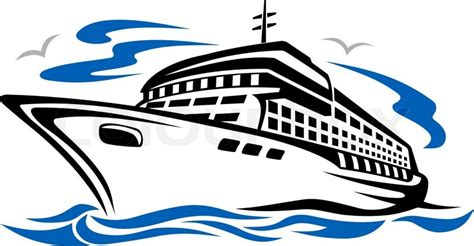 Boat On Lake Clipart by Lake Cruise Boat Clipart