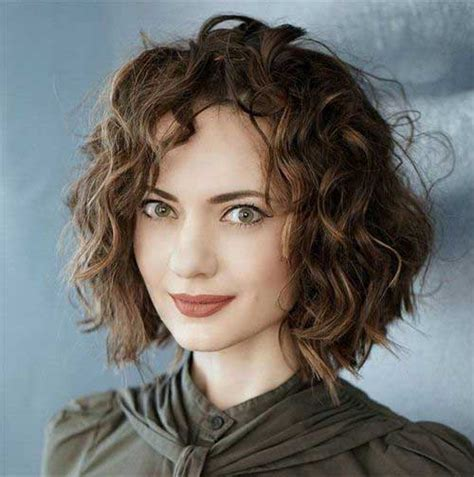 Curl Bob Hairstyle by Curly Bob Hairstyles For Chic Crazyforus