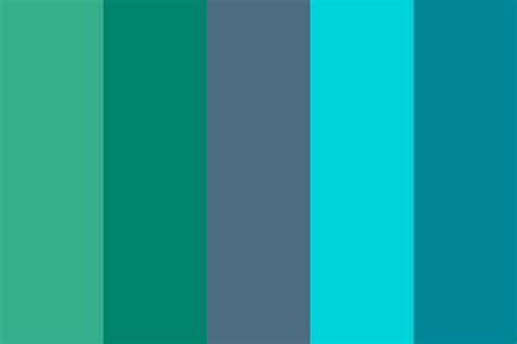blue green color palette waves blue green color palette