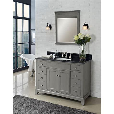 grey bathroom cabinets fairmont designs 48 quot smithfield vanity medium gray 13028