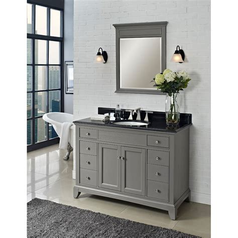 fairmont designs 48 quot smithfield vanity medium gray