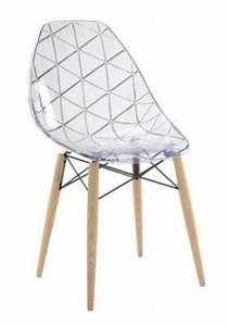 Chaise Transparente Fly : d couvrez fly wooden chaise fr ne blanc transparent sur mappyshopping chaise fauteuil ~ Teatrodelosmanantiales.com Idées de Décoration