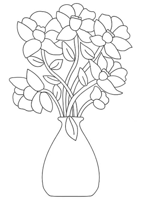 Coloring Flower by Beautiful Printable Flowers Coloring Pages