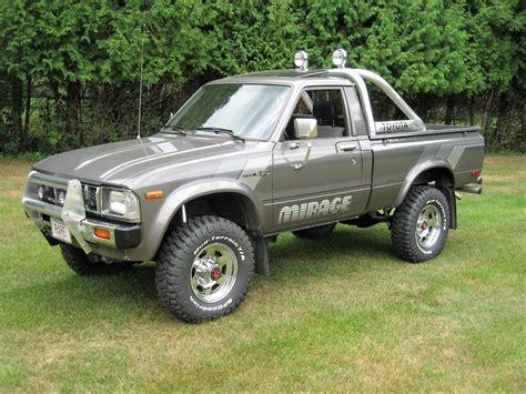 """1983 Toyota Sr5 4x4 Pickup Truck """"mirage Limited Edition. Garage Storage Lift Hoist. Garage Floor Bump Stops. Walk In Shower Without Door. Baby Garage Sale. Adding A Garage To Your Home. Repair Garage Door. Door Replacement. Patio Door Installation Cost"""