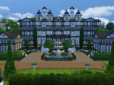 sim mansion photo gallery barons mansion v2 by tomostergreen at tsr 187 sims 4 updates