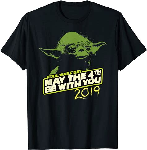 Amazon.com: Star Wars Day Yoda May the 4th Be With You ...