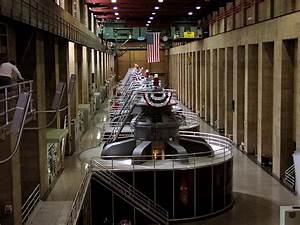 Generators Inside Hoover Dam