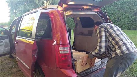 Dodge Caravan Rv Conversion #1