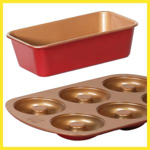 amazoncom red copper loaf pan  bulbhead kitchen dining
