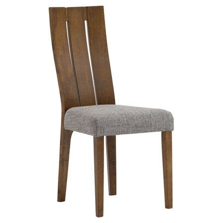 dining room side chair with a solid wood frame and upholstered seat