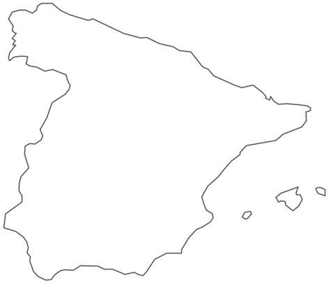 geo map europe spain