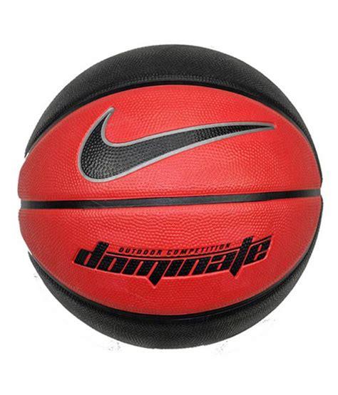 nike dominate basketball ball redblack size  buy