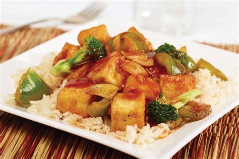 cuisiner tofu poele sauté de tofu style barbecue recette fondation olo