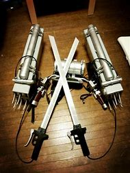 Attack On Titan 3D Maneuver Gear