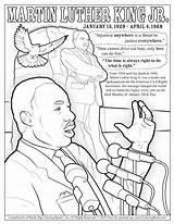 Luther Martin Coloring King Jr Dr Mlk Printable Sheet Drawing Coloringbook Dream Colouring History Adults Preschool Worksheets Christmas Month Imwithphil sketch template