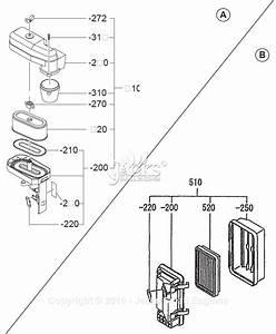 robin subaru ex17 rev07 13 parts diagram for air cleaner ii With robin subaru ex17 rev07 13 parts diagrams for carburetor