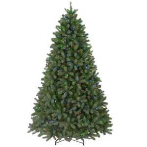 7 5 ft feel real downswept douglas fir artificial christmas tree with 750 multi color lights