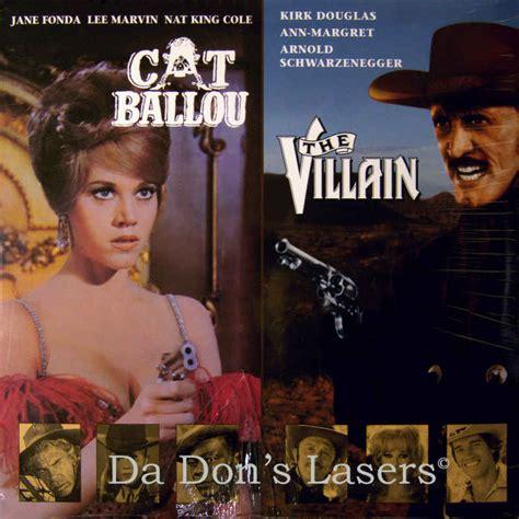 Cat Ballou  The Villain Laserdisc, Rare Laserdiscs
