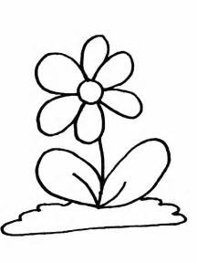 Cartoon Pictures Of Flowers Coloring Home