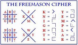 Secret Codes For Writing Freemason code uses symbols to
