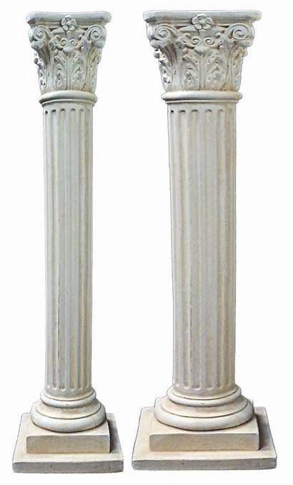Transparent Column Background Greek Columns Pillar Pillars