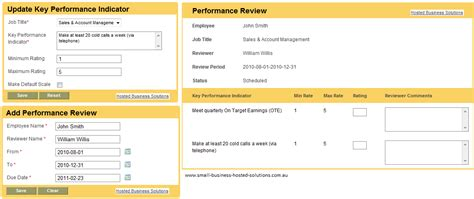 employee confirmation evaluation form employee kpis