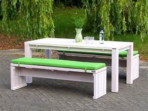 Gartenmöbel Weiß Holz : gartenm bel set 3 zeitlose gartenm bel aus heimischem holz ~ Whattoseeinmadrid.com Haus und Dekorationen