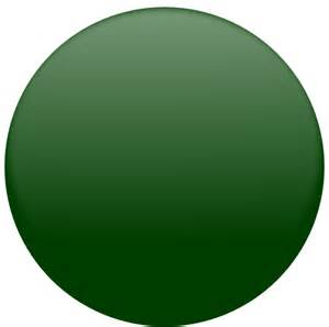Dark Green Circle Clip Art